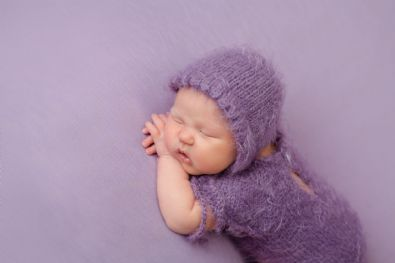 Purple Backdrop Bundle | Newborn Baby Posing Ltd